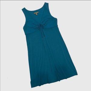 Tommy Bahama Teal Sleeveless Dress.  Size Large